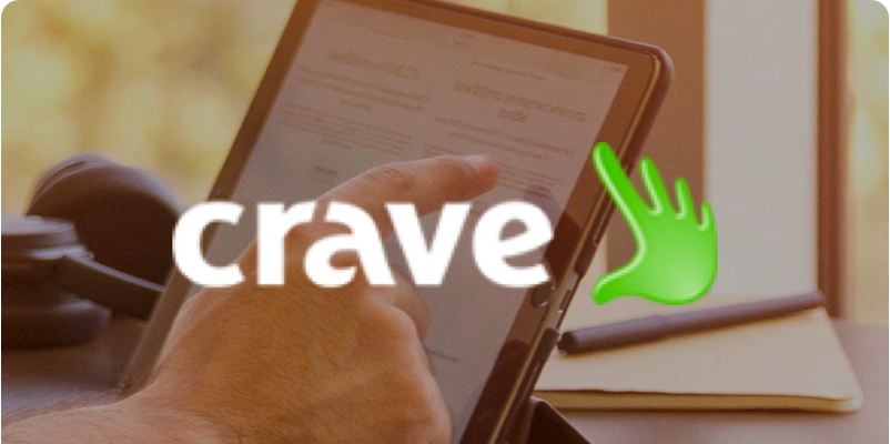 Graphic showing Crave Interactive